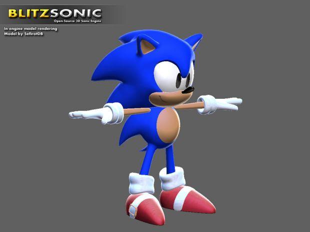New Sonic model