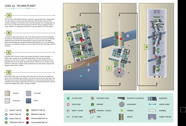 Level Design Maps