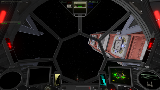 A-wing and TIE Interceptor Cockpits