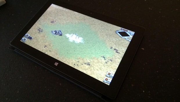 DVW running on a Windows Surface RT (ARM) tablet