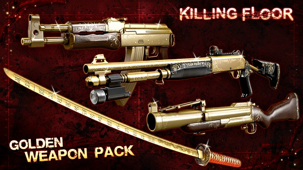 Twisted Christmas 3 Golden Weapons Pack DLC