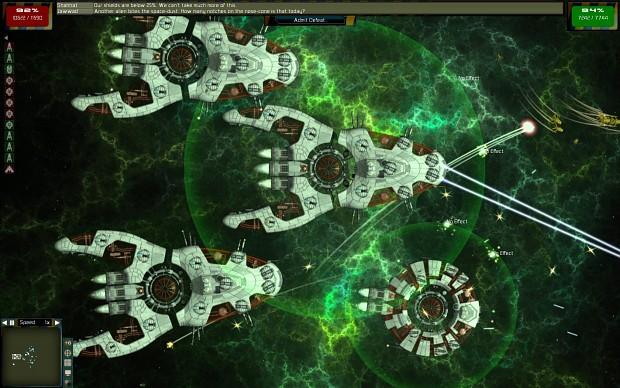 Parasite starships
