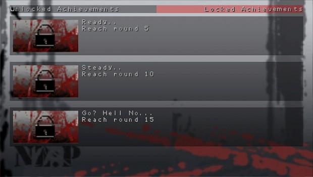 Achievement menu