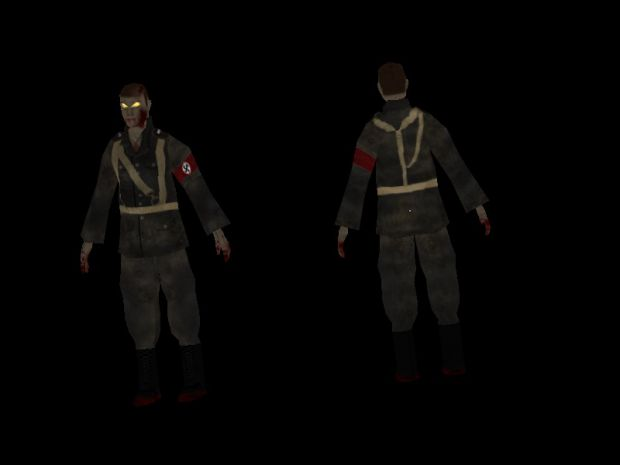 New Nazi Zombie Texture