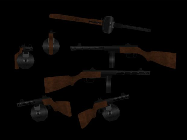 PPSH 44 Textured