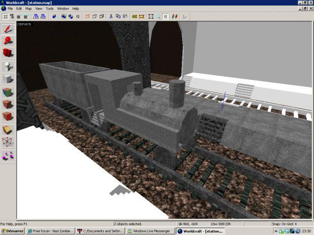 Pre Alpha: Train Station