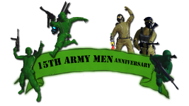 15th Anniversary of Army Men!