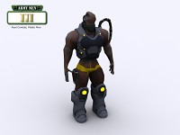 Army Men III Characters - Berserker