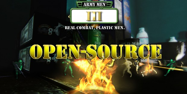 Army Men III Promotional Wallpaper - Open Source