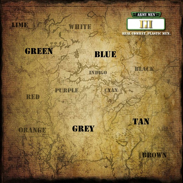 Army Men III Wallpaper - World Map