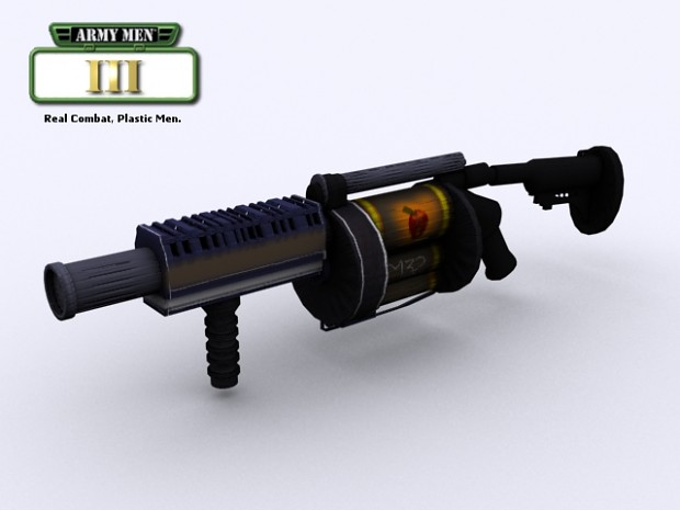 Army Men III Weapons - Grenade Launcher