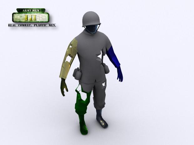 Topic : ARMY MEN III Zombie