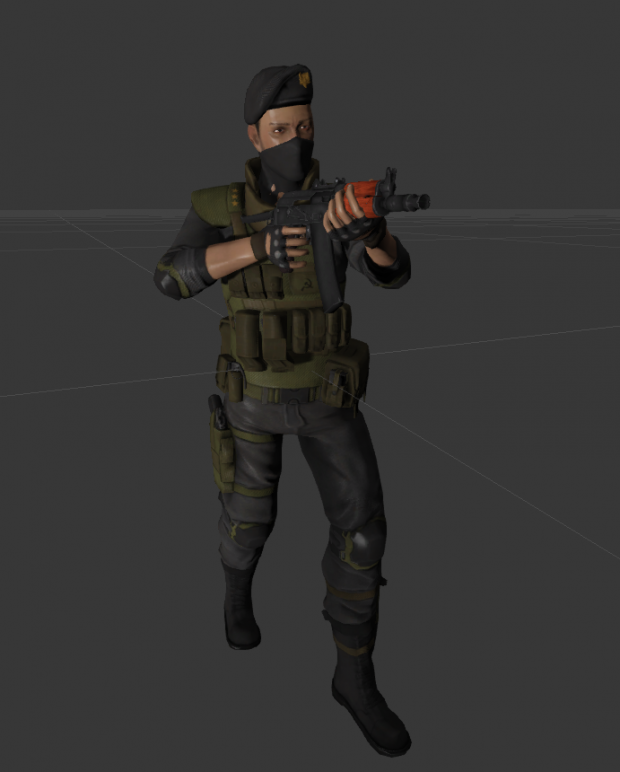Russian Officer W.I.P