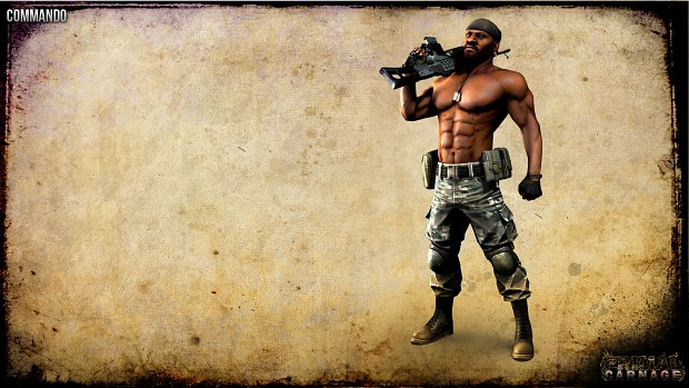 Commando Wallpaper