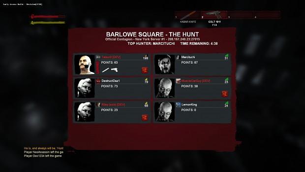Contagion - Build 4728 :: Scoreboard Update