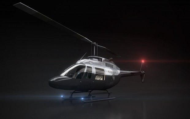 Contagion - Bell206 Police Chopper