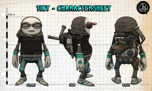 Charactersheet - Tiny