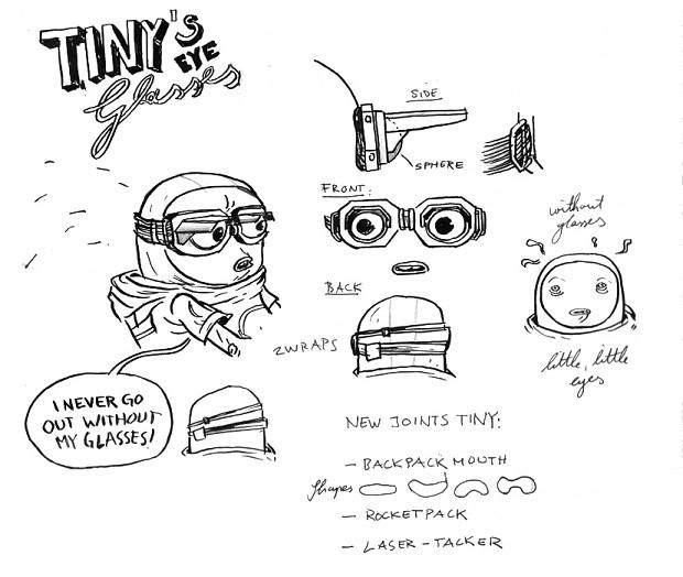 Tiny sketch goggles