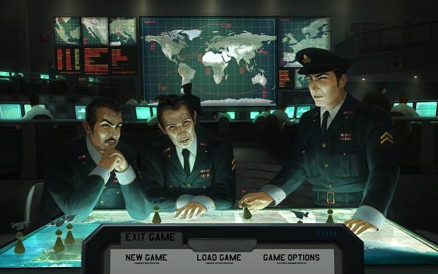 Xenonauts Title Screen
