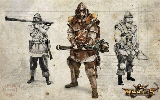 Iron Grip: Marauders - Concept Art