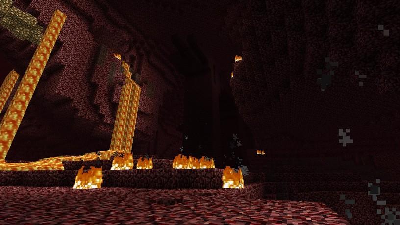 Как сделать портал в ад в майнкрафт 186