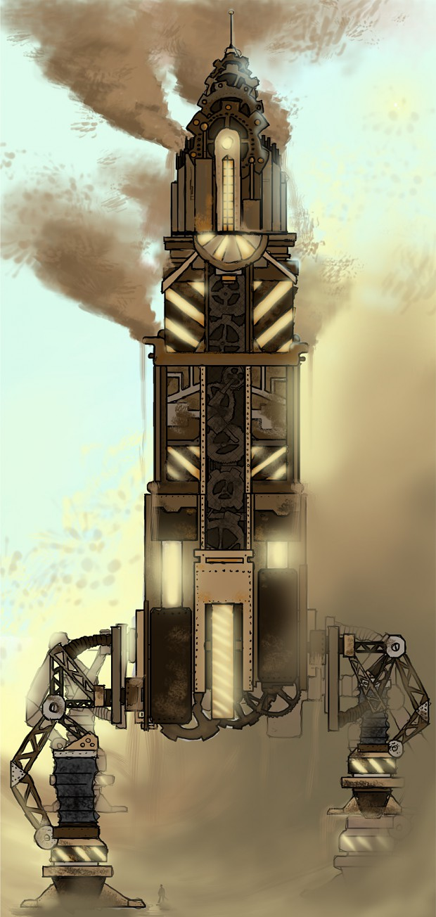 Early Tower Visual Design