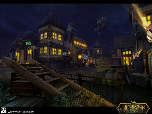 Town Square Game Shot