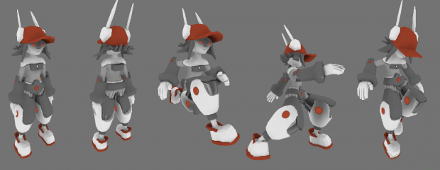 RoboSarah Animated