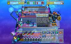 Screenshots of first arena