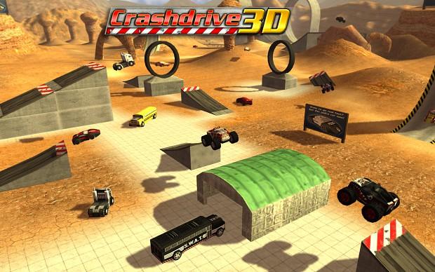 Crashdrive 3D Wallpaper