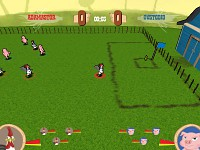 Typical gameplay scene