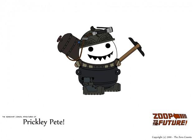 Prickley Pete Undersea Impromptu Armor