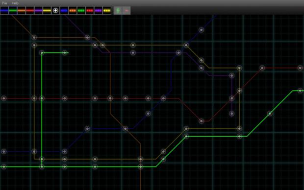 Level Editor - London Tube tribute level