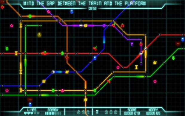 London tube tribute level