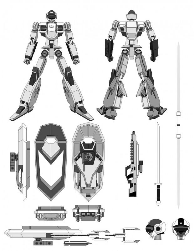 Zexen Concept Art