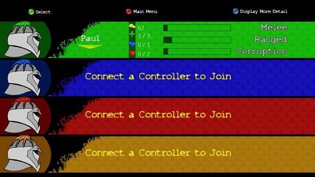 Corrupted Menu Screens
