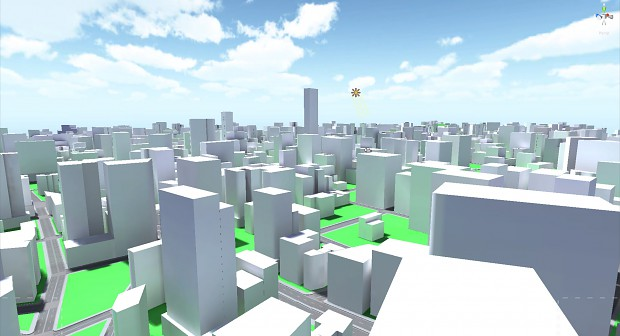 Damzel cityblock lighting test