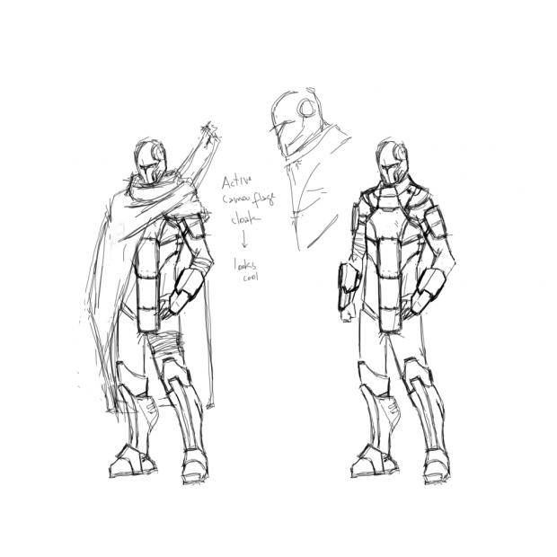 Stealth Suit Concept