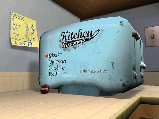 Kitchen Krashers - Main Menu