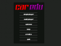 Menu without GUI textures (upcoming Release #3)