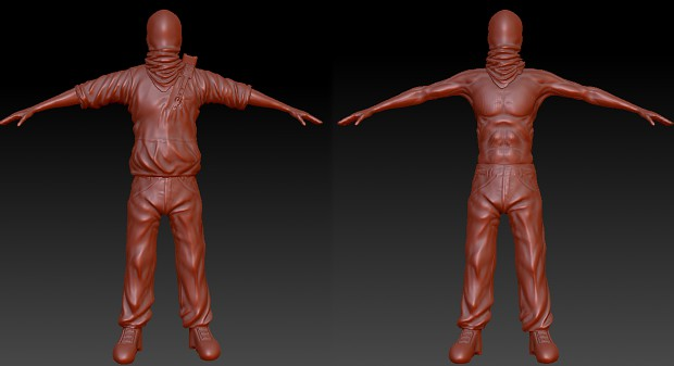 First character model WIP