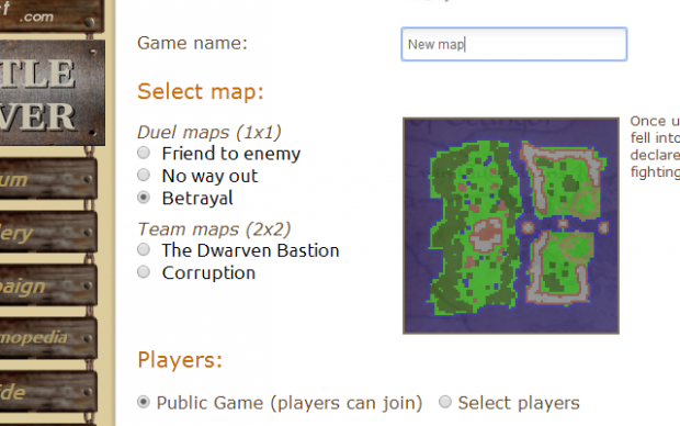 New 1vs1 map: Betrayal