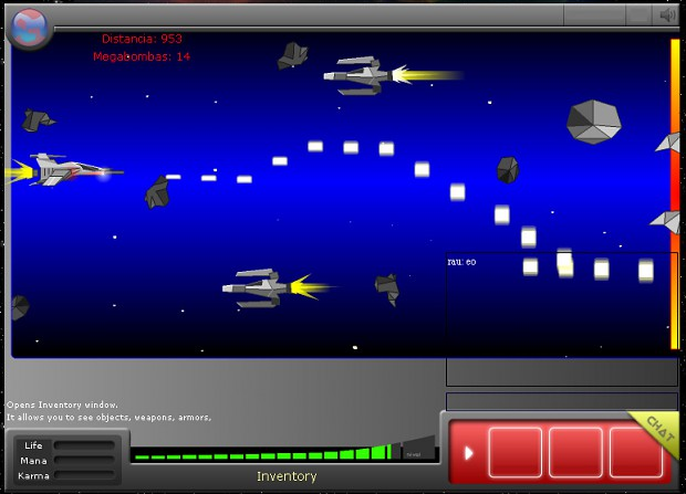 Ships minigame