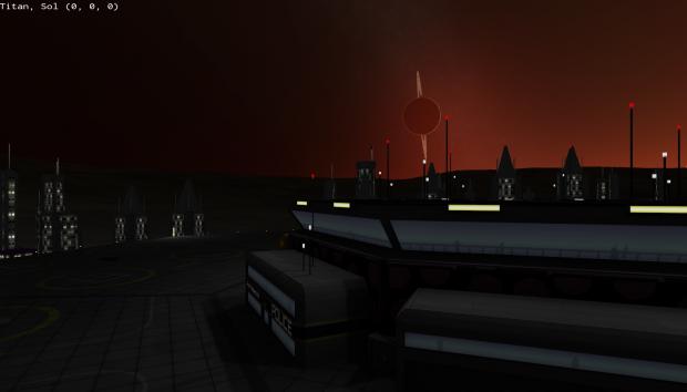 Titan Lightshow By Nozmajner