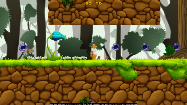 Mockup of the new style of the forest theme