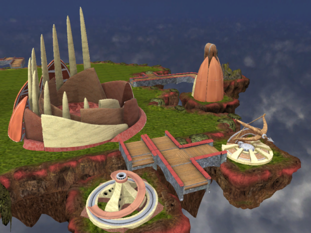 Wind Temple close view ingame along with new units
