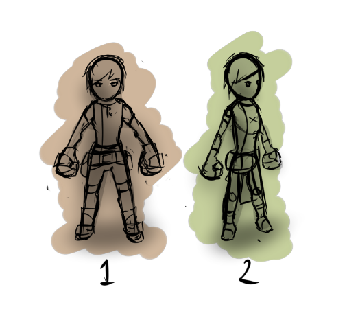 Character Concepts 1 and 2