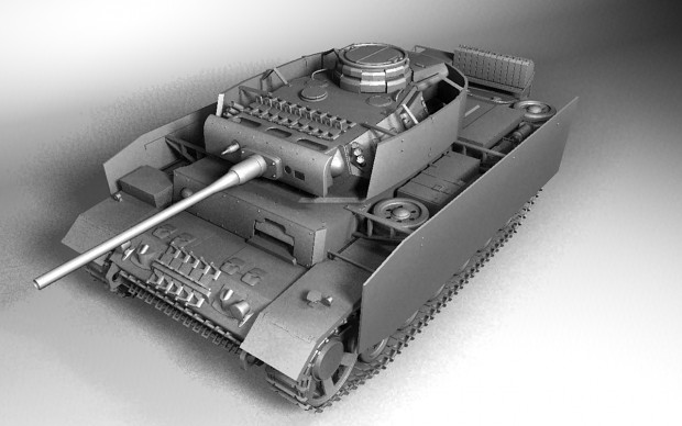 Panzer III Ausf-L Model CornerL (WIP)