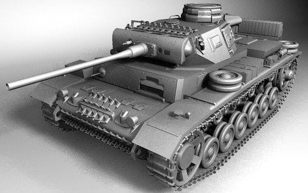 Panzer III Ausf-L Model CornerLbare(WIP)