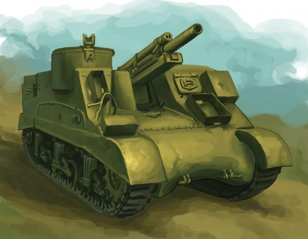 M7 Priest Concept